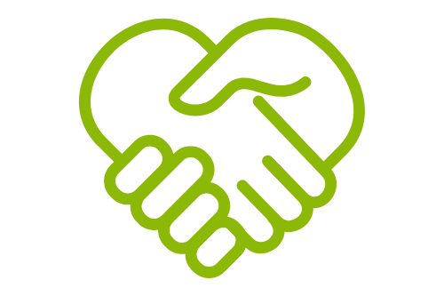 介護保険施設や各介護サービス事業所などとの連携を図ります。